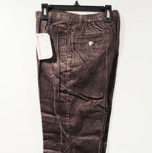 NWT Canadian Sport Pants Corduroy Iron Gray Chino